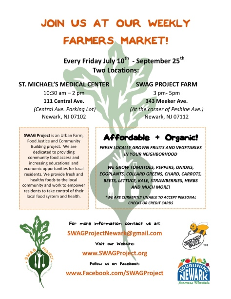 SWAG Market Flyer (2015)
